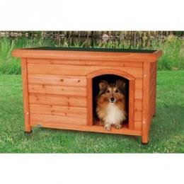 Natura Flat Roof Dog Kennel Medium 85x60x58cm
