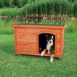 Natura Flat Roof Dog Kennel 106x72x68cm