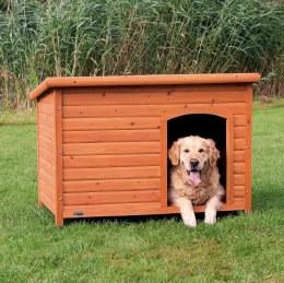 Natura Flat Roof Dog Kennel XL 116x82x79cm