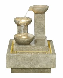 Kelkay Water Feature Pouring Bowls with LEDS