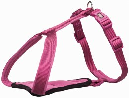 Premium H-harness XS/S Fuchsia