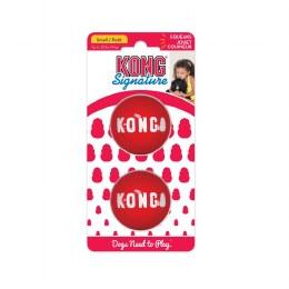 KONG Signature Balls Small 2pk