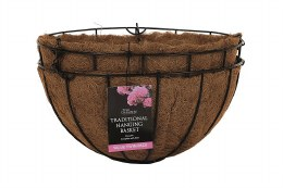 Tom Chambers Hanging Basket 35cm - Special Offer - Sold as Pair.