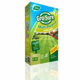 Westland Gro-Sure Multi-Purpose Lawn Seed 50m2