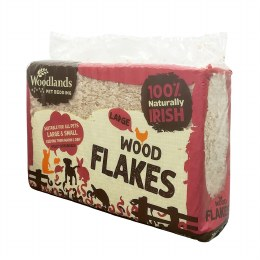 Woodlands Large Wood Flakes 3 Kg