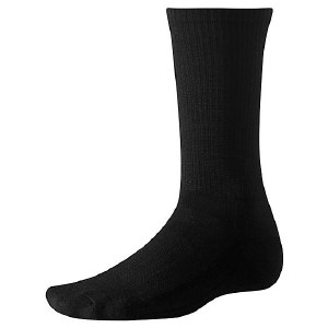 Smartwool Men's Black Hiking Liner Sock - Small