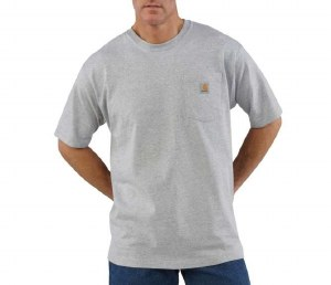 Carhartt Workwear Pocket T-Shirt (Heather Gray) XLarge