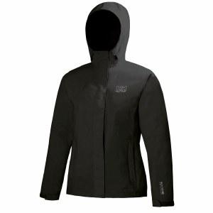 Helly Hansen Women's Seven J Waterproof Jacket Black - Medium