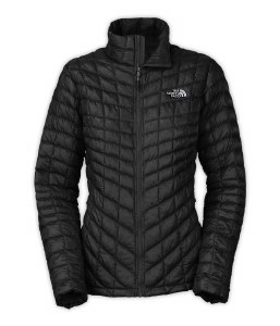 The North Face Womens's Thermoball FZ Jacket Black - XSmall