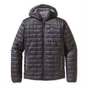 Patagonia Men's Nano Puff Hoody Jacket Forge Grey - XLarge