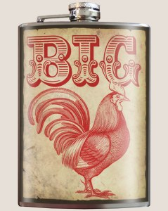 Big Rooster Flask