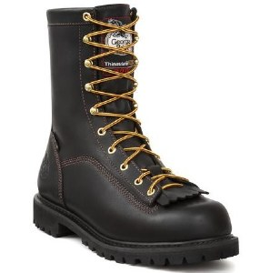 Georgia Men's Insulated Gore-Tex Low-Heel Logger Work Boot - Size 11