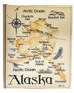 Deluxe Alaska Map Photo Album 200 Pictures