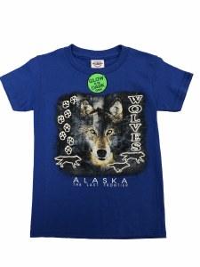 Youth Phantom Wolf Tee - XSmall
