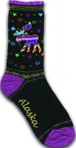 Sparkle Moose Ladies Sock
