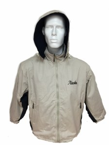 2 Tone Jacket  Khaki & Navy - 3XL
