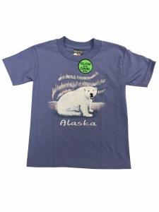 Youth Nubby Polar Bear Tee - XSmall