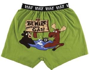 Beware Natural Gas Boxers - Large