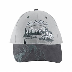 Wolf All Over Adult Ball Hat