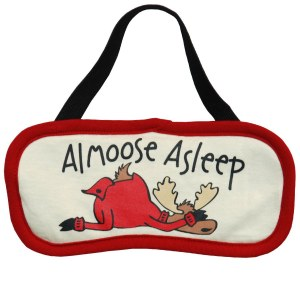 Sleep Mask- Almoose Asleep