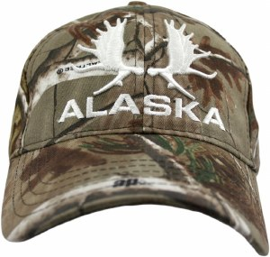 Alaska Real Tree Moose Hat