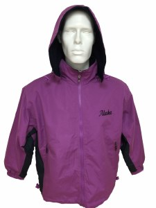 2 Tone Jacket Purple/Navy - Small
