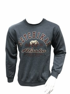 Mrs. Clean Grizzly Crew Neck Sweatshirt - Large