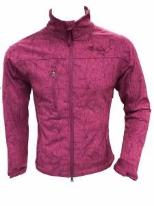 Women's Pink Softshell Jacket - Small