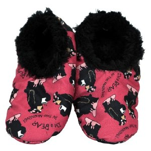 Fuzzy Feet Slippers 'I'm a Bear' - Large / XLarge