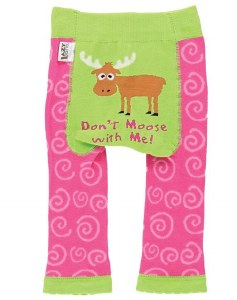 Don't Moose With Me Infant Leggings - Medium
