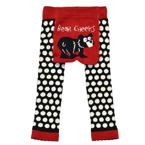 Bear Cheeks Infant Leggings - Medium