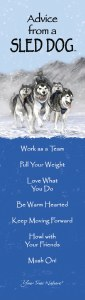 来自雪橇犬书签的建议