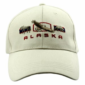 3 Big Animals Alaska Hat
