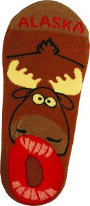 Alaska Moose Low Cut Sock