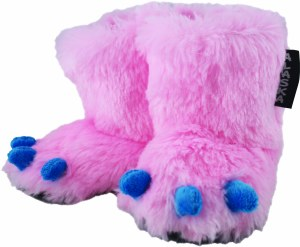 Pink Youth Monster Feet 2-4