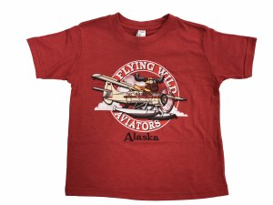Youth Flying Wild Moose Tee - 2T