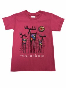 Youth Rock Star Moose Tee - XSmall