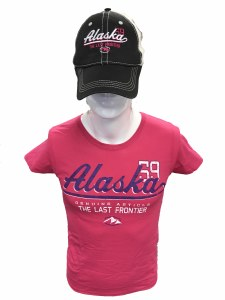 Women's Piper Mountain Alaska Hat/Tee Combo - Small