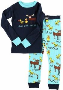 Boy's Duck Duck Moose Long Sleeve PJ's - 3T