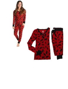 Women's Classic Moose Thermal Set - Small