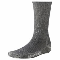 Smartwool Men's Grey Light Hiking Crew Sock - Large 9 - 11.5