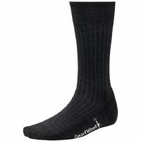 Smartwool Men's Classic Black Rib Sock - Large 9 - 11.5