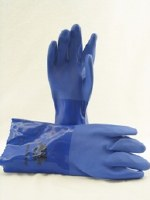 Blue Vinyl Glove - Medium