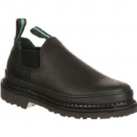 Georgia Men's Gianty Romeo Work Shoes Black - 7 WIDE