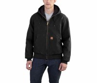 Carhartt Sandstone Quilted Flannel-Lined Active Jacket (Black) 2XL Tall