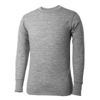Terramar Men's 2 Layer  Merino Wool 2.0 Crew