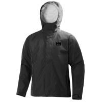 Helly Hansen Men's Seven J Waterproof Jacket Black - Large
