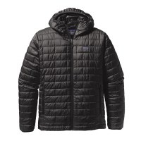Patagonia Men's Nano Puff Hoody Jacket Black - Small