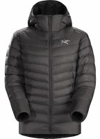 Arc'teryx Women's Cerium LT Down Hooded Jacket Black - XSmall