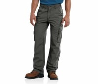 Men's Carhartt FORCE Tappen Cargo Pant (Gravel) Pants 32 X 30